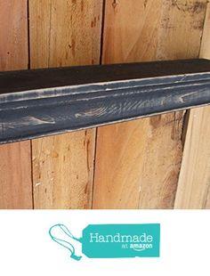 Floating Black MANTLE SHELF, Wall shelf, CEDAR, Distressed, French Country, Paris, Shabby Chic, Aged, Primitive, Handmade from FarmhouseFurnitureTX http://smile.amazon.com/dp/B016C0402U/ref=hnd_sw_r_pi_dp_Ua5hwb0EF7HF2 #handmadeatamazon