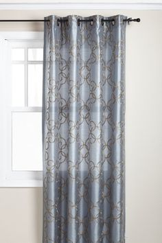 Regal Home Medallion 54-Inch by 84-Inch Embroidered Faux Silk Panel with Grommets, Blue by Regal, http://www.amazon.com/dp/B005G2RSXO/ref=cm_sw_r_pi_dp_d0Pvqb15PEFGP