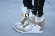 love sneaker wedges!