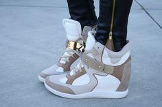 love sneaker wedges!
