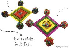 How-to Make God's Eyes