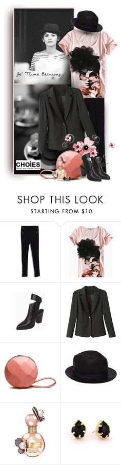 """""""je t'aime beaucoup - Choies Fashion"""" by christiana40 ❤ liked on Polyvore featuring rag & bone, Marc Jacobs, Kendra Scott and éS"""