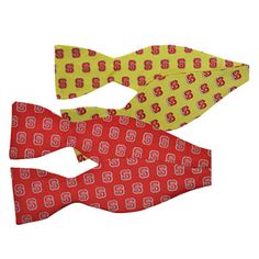 NC State bow ties