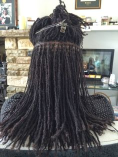 """""""The Locs"""" (aka my first installation client) came to see me this week. (almost 3.5 yrs)"""