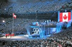 Being at the Opening Ceremony of Vancouver Olympics
