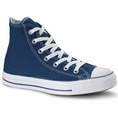 dark blue converse