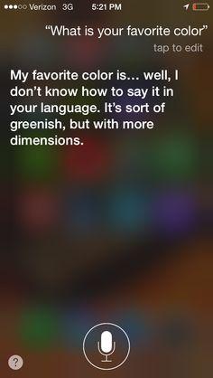 Thing 2 ask Siri