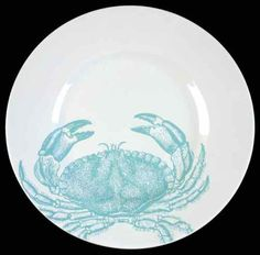 222-Fifth-COASTAL-LIFE-BLUE-Crab-Salad-Plate-9436265