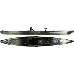 Wilderness Systems Tarpon 160 Angler Kayak $1269 - Wilderness Systems Tarpon 160 Angler Kayak was designed with the gear capacity, comfort, and paddling prowess to be defined as a very serious fishing kayak. Defined chine lines and smooth contours give this boat stability and efficiency on the water, and extra length helps the hull carry more gear without bogging down. Features Galore