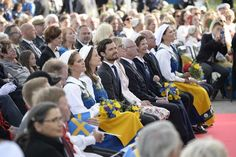 "Royaltyspeaking on Twitter: ""Swedish royals attended the annual National Day concert at Skansen this evening"