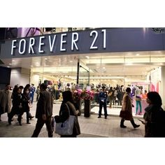 Forever 21 Shibuya Grand Opening ❤ liked on Polyvore featuring pictures, backgrounds, icons and photos