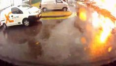 Video captures incredible moment when lightning strikes tree at Sim Lim Tower carpark
