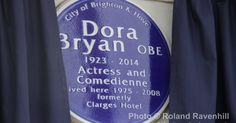 Plaque to movie star Dora Bryan unveiled at her former home in Brighton
