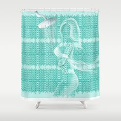 Gap Teal Lacy Wave Shower curtain designed by We~ivy. Follow We~Ivy's Art BootH for more special #art #gift ideas for #holiday seasons or # birthday #party, to find great #home decors or stuff just to spoil yourself. Waves Line, To Spoil, My Themes, Ocean Waves, Beach Towel, Ivy, Duvet, Original Art, Teal
