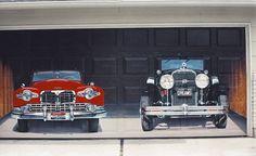 Overhead/Garage Door Artwork. [ #Art, #GarageDoorTrends, #GarageDoorStyles, #GarageDoor, #OverheadDoor, #Canada, #Saskatchewan, #Regina, #Saskatoon, #ODCS, #ODCSaskatchewan ]
