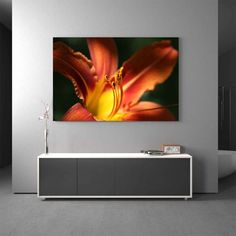 Glasbild Lilie Orange Jetzt bestellen unter: https://moebel.ladendirekt.de/dekoration/bilder-und-rahmen/bilder/?uid=186e2ec3-26ab-52e9-8bf6-6337c1c9e806&utm_source=pinterest&utm_medium=pin&utm_campaign=boards #glasdesign #glas #bilder #rahmen #dekoration