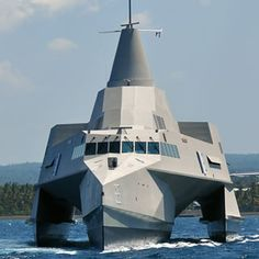 Trimaran FMPV 63m Fast Missile Patrol Vessel Stealth Composite Indonesia Indonesian Navy TNI AL North Sea Boats PT Lundin KRI Klewang-625 datasheet pictures photos video specifications