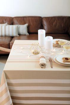 Nappe Ainhoa Champagne - Disponible en ligne dès novembre  >> www.jean-vier.com