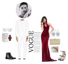 """""""Untitled #219"""" by blunted-diva on Polyvore featuring Givenchy, Sherri Hill, Giuseppe Zanotti, La Regale, Ted Baker, Ray-Ban and Gucci"""
