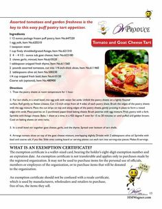 Here is a quick and easy recipe for a Tomato & Goat Cheese Tart, using garden fresh veggies!