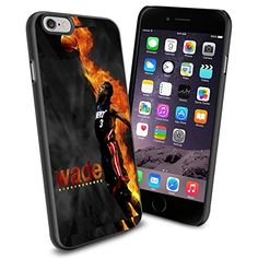 Basketball NBA Dwyane Wade Black Miami Heat, Cool iPhone 6 Smartphone Case Cover Collector iPhone TPU Rubber Case Black Phoneaholic http://www.amazon.com/dp/B00TWEDGCY/ref=cm_sw_r_pi_dp_6EPmvb082YX45