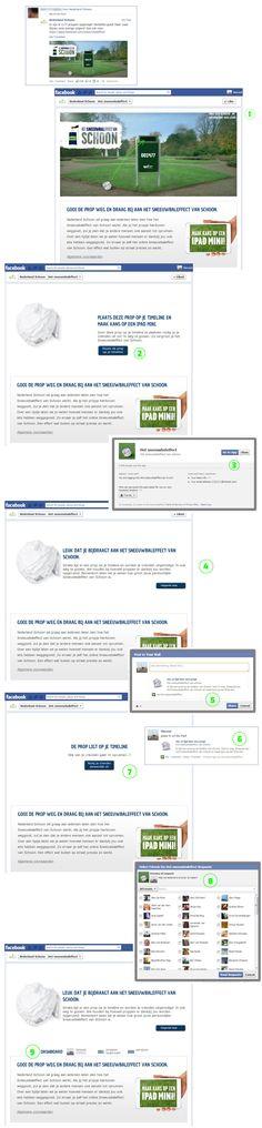 Deze campagne heeft de basics: een like gate, api verbinding, friends selectie, statusupdates en ja je kunt er nog een gave prijs mee winnen ook. Wat een een geweldig leuk extra vind, is de feedback van het aantal proppen die je hebt opgeruimd.... maar zeker ook hoeveel van je friends het ook deden en wat daarmee het totaal van opgeruimde proppen wordt in jouw netwerk. Dat is nog eens   #viral :) #facebookapp https://www.facebook.com/nederlandschoon