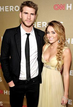 Miley Cyrus and Liam Hemsworth's Love Story: Perfect Pair