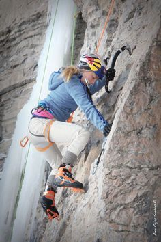 Sasha DiGiulian will compete on Ouray Ice -- she just started ice climbing this week (but, of course, she's one of the world's best rock climbers)