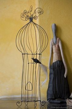Love the wire cage. Very French. Could I make it?