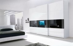 Check Out 35 Modern Wardrobe Furniture Designs. Wardrobe closets are a wonderful addition to any modern and contemporary bedroom or guest room. They were quite popular during our parent& youth and are now making a comeback in homes today.
