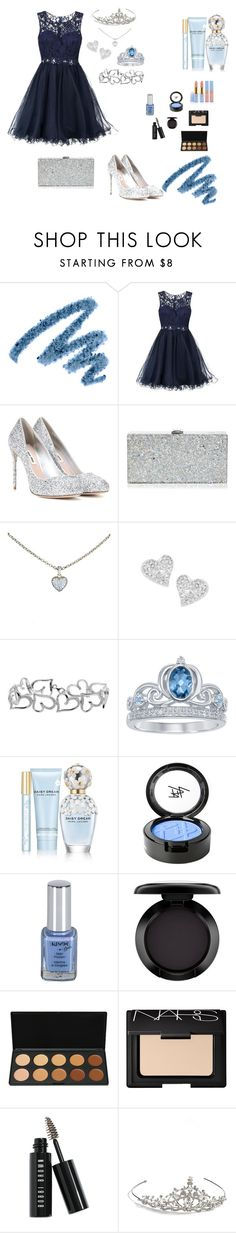 """BLUE MOON PROM"" by itstatitorress on Polyvore featuring Yves Saint Laurent, Laona, Miu Miu, Milly, Cartier, Vivienne Westwood, Disney, Marc Jacobs, Beauty Is Life and MAC Cosmetics"