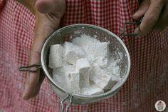 Homemade Apple Cinnamon Marshmallows Recipe :: HoosierHomemade.com