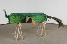 Nature morte avec artiste  Jan Fabre