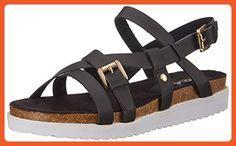 N.Y.L.A. Women's Samson Platform Sandal, Black, 9 M US - Sandals for women (*Amazon Partner-Link)