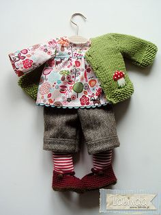 Autumn outfit for a doll by Lalinda.pl | Agnieszka Nowak | Flickr