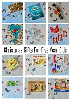 Christmas Gifts For Five-Year-Olds Christmas Gifts For Five Year Olds, Christmas Recipes, Christmas Time, Easy Diys For Kids, Diy Projects For Kids, Crafts For Kids, Holiday Gift Guide, Holiday Gifts, School Sets