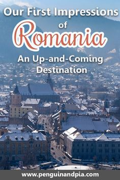 Romania is still an unknown country. We spent a month there travelling from Transylvania including Brasov, Sibiu and Sighisoara to Bucharest. Click to read about our first impressions and thoughts about Romania. #romania #europe #easterneurope #sighisoara #bucharest #brasov #travel #travelthoughts #firstimpression