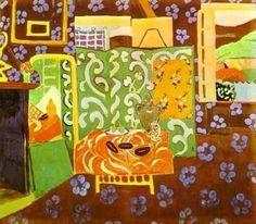 Henri Matisse; Natura morta con melanzane; 1911-12; olio su tela.