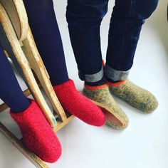 The wool socks that rocks, hand knitted and availabe in different colors.