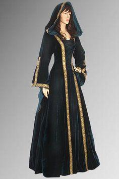 Ladies Medieval Renaissance Costume Image