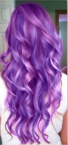 Purple hair!!!