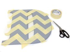Make a House Address Number Monogram | Chevron Tape Pattern | CraftCuts.com