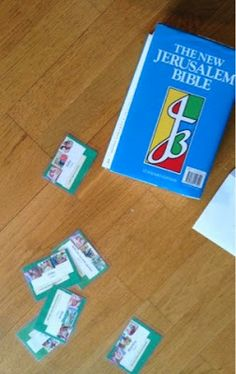 Bible cards- great suggestions for learning about the different books of the Bible