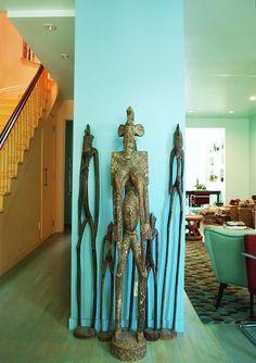 Malene's Tropical Modern Queen Anne Townhome