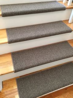 Saville Row Milk Chocolate Wool True Bullnose™ Carpet Stair Tread - For Safety Comfort Dog Cat Pet (Sold Each) by RiverDriveDesigns on Etsy Hotel Carpet, Shag Carpet, Wall Carpet, Diy Carpet, Modern Carpet, Bedroom Carpet, Hallway Carpet Runners, Cheap Carpet Runners, Stair Runners
