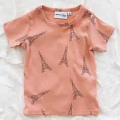 mini rodini eiffel tower tee (if I knew for sure we were going to paris in the fall)