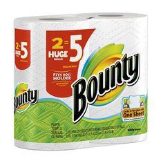 Buy Bounty Paper Towels 2 Huge Rolls (Pack of