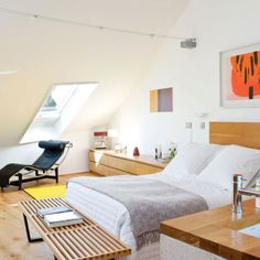 Inspiration And Ideas For Decorating An Attic Bedroom 19