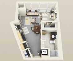Living in a small home cannot be bad if you know how to organize the space well. You should get the most of it, so that you can live comfortably and be able to have