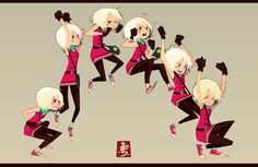 Jump animation by Ahmad Beiruty good in showing all steps in static image this is very helpful Character Design Animation, Character Design References, Character Drawing, Comic Character, Character Illustration, Character Concept, Concept Art, Jump Animation, Animation Reference